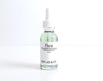 Pure Facial Elixir - (Combination | Oily | Blemish-Prone) - Face Oil, Face Serum, Facial Oil, Organic Face Moisturizer, Natural, Vegan