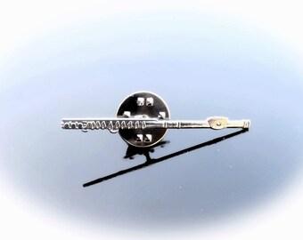 Flute Pin Brooch