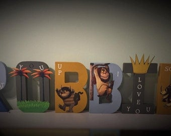 Character themed Letters
