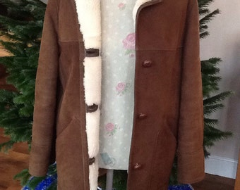 1970's Ridley's Sheepskin Coat