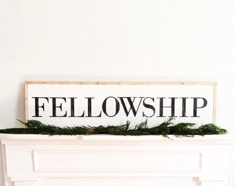 Fellowship sign