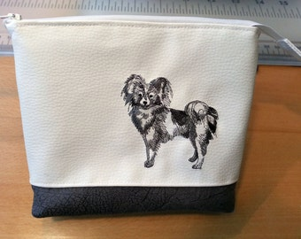 toiletry bag, utility pouch *** Papillon ***