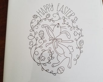 """Stampin Up """"Happy Easter Bunny"""""""