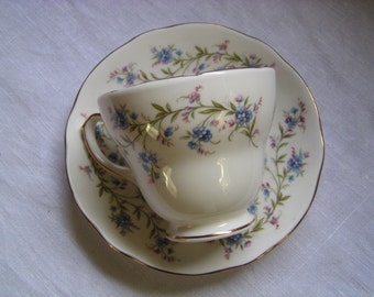 Duchess China 'Tranquility' Teacup and Saucer