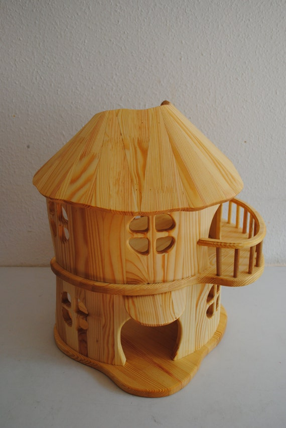Dollhouse Handmade Wooden Dollhouse Doll House