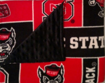 NC State Baby Blanket