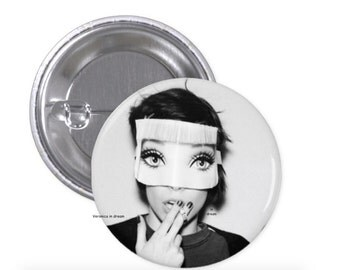 "Alice Glass pins faces + Crystal Castles logo "" Madonna """