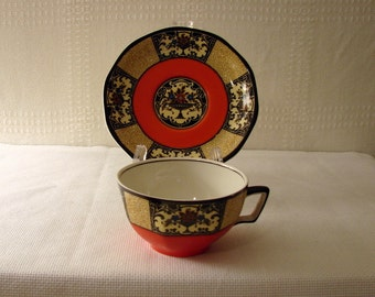 Wedgwood Cup and Saucer > Nanette Pattern