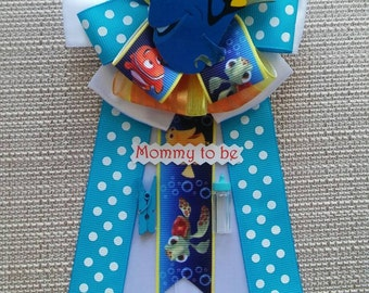 Baby Shower Corsage - Nemo/Dory Inspired.