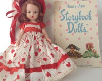 Nancy Ann Storybook Doll Queen Of Hearts