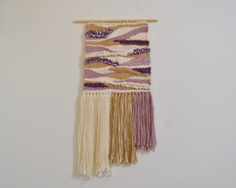 """Handwoven """"Grandmother"""" Wall Hanging / Weaving / Tapestry"""