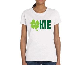 OKLAHOMA Shamrock OKIE TShirt St. Patricks Day Shirt Pinch Proof