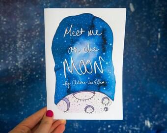 Meet Me On The Moon zine by Chelsea-Lee Elliott