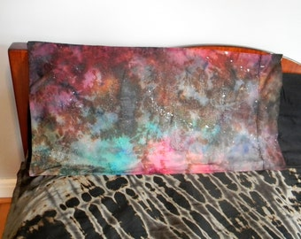 Tie Dye Galaxy Pillow Case