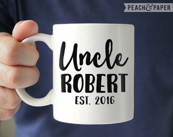 Uncle Baby Reveal To Brother Gift For New Uncle Baby Announcement New Uncle To Be Mug Brother Pregnancy Reveal Uncle Pregnancy Announcement