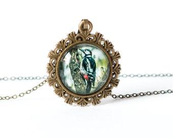 Woodpecker Necklace