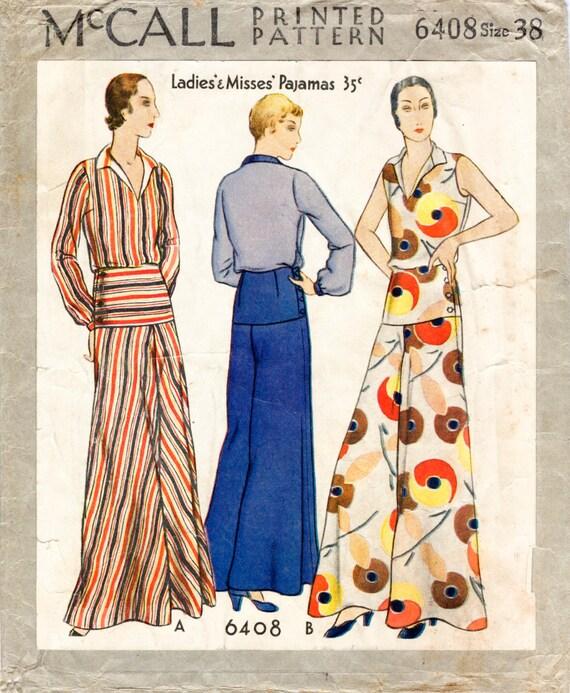 des ann es 30 ann es 1930 repro vintage couture motif plage. Black Bedroom Furniture Sets. Home Design Ideas