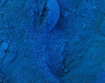Bath Bomb Blue Powder Color - Lake - Not for Lips