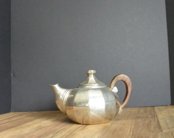 Unique Silver plated brass Tea/Coffee Pot!
