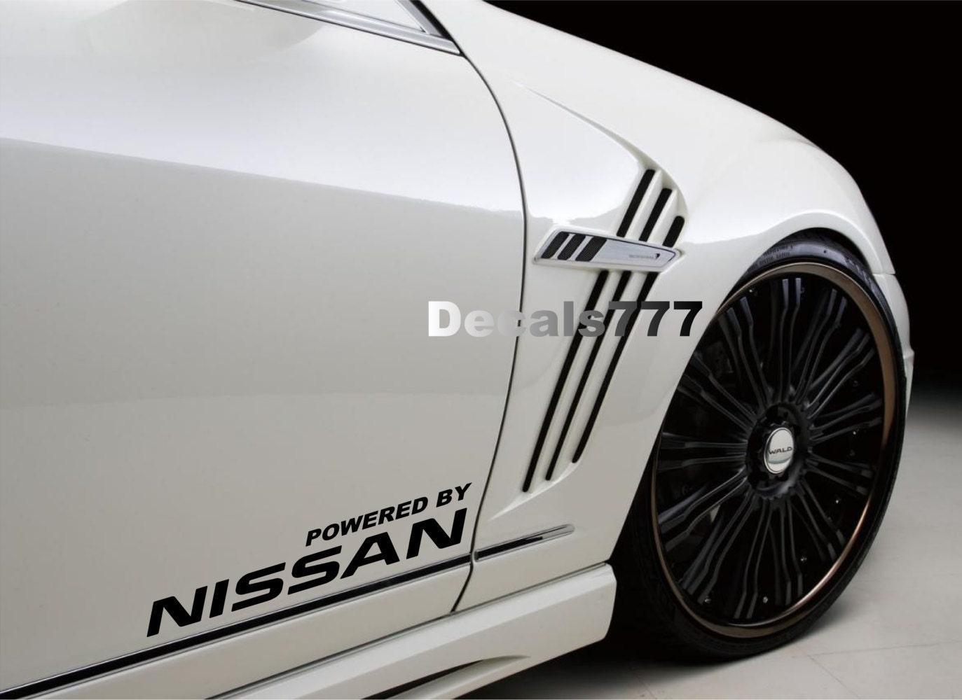 Powered by Nissan RACING Z350 Z370 Sentra Maxima Altima Versa