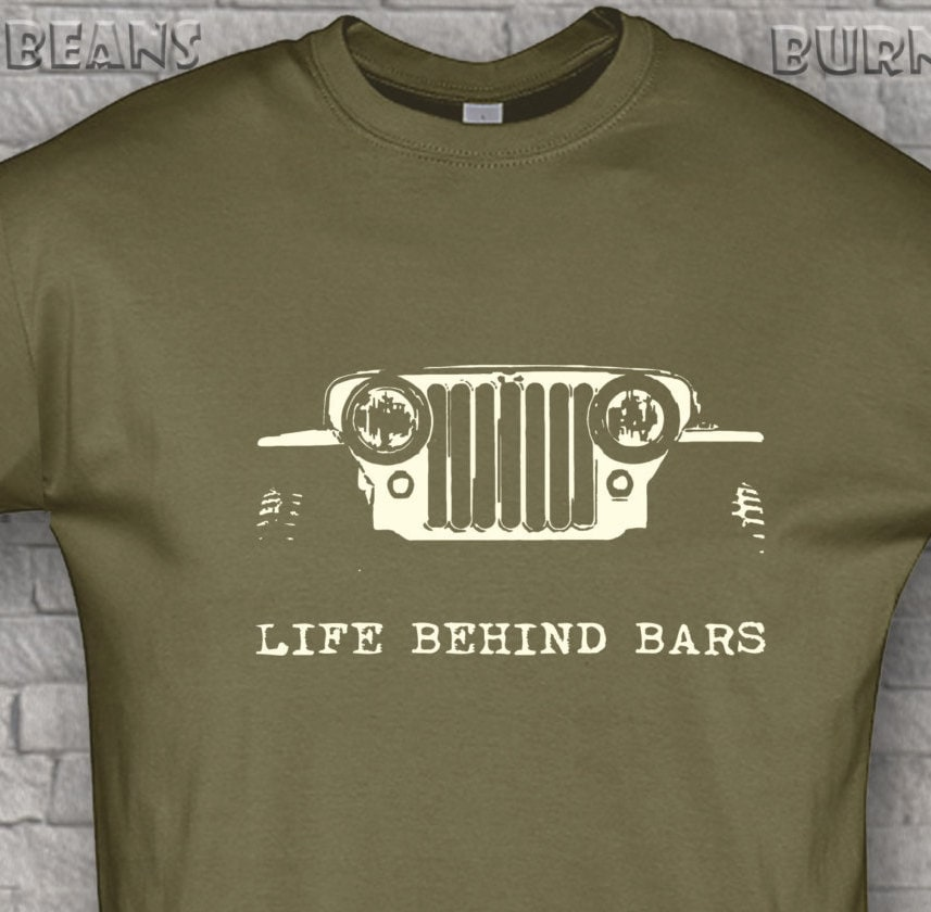 Off road t shirt awd jeep t shirt 4x4 willys funny gift life for Custom bar t shirts