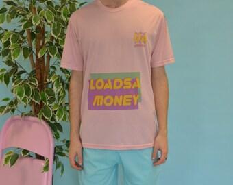 Loadsa money pink sports shirt