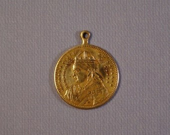 SALE!!!   RARE 1887 Queen Victoria Golden Jubilee Medallion