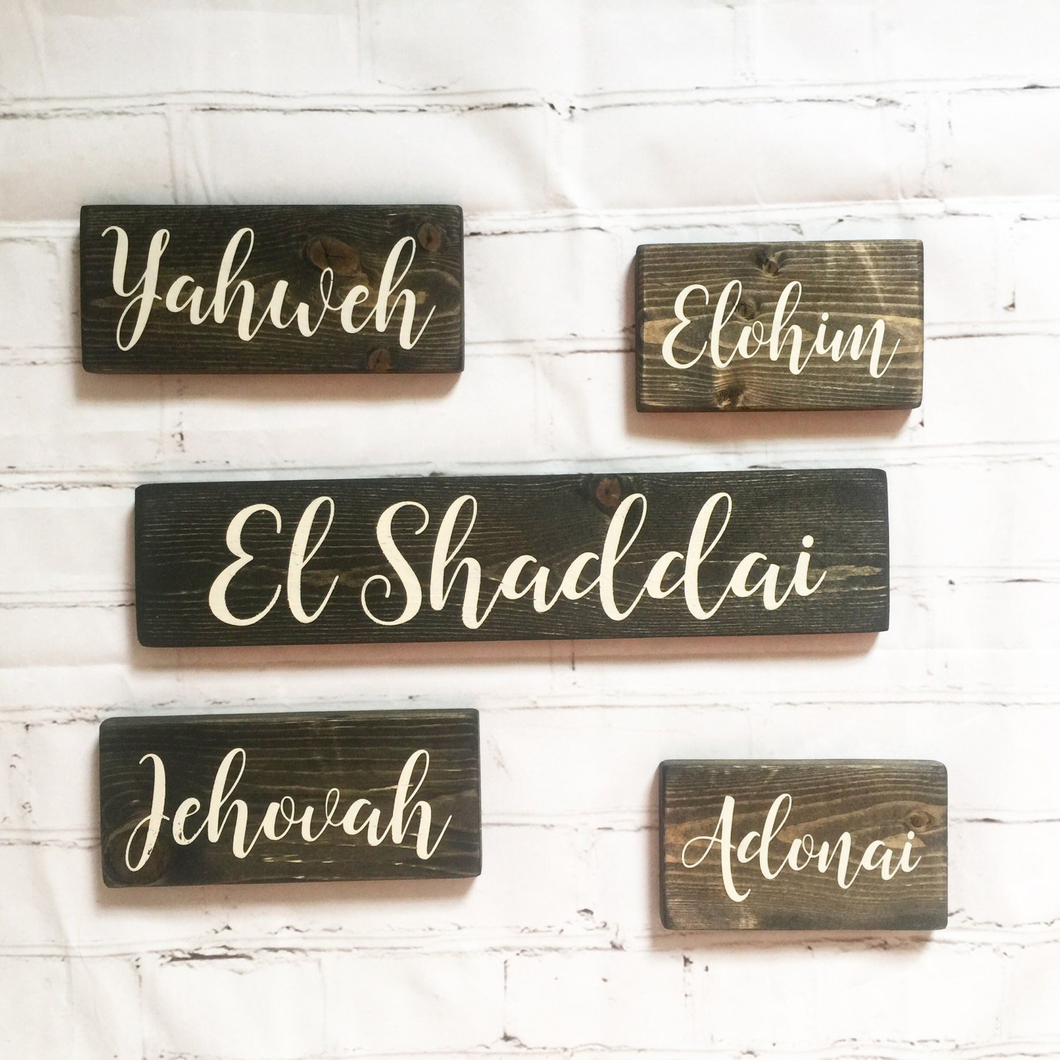 Wall Decor Home Decor Wood Signs Hand Painted By