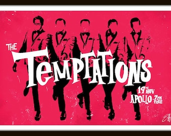 The Temptations by Elliot Griffin Limited Edition Print