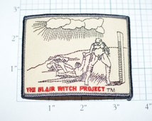 The Blair Witch Project Iron-On Movie Patch 1999 Licensed e10c **Limited Stock** Free Shipping