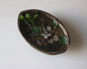 Miniature fish etsy for Artificial koi fish for ponds