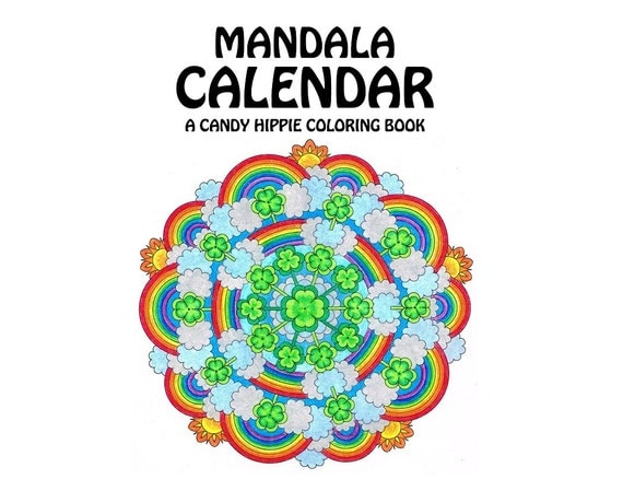 ... year adult coloring calendar for adults and big kids - 2016 calendar