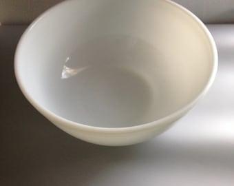 Vintage Pyrex Opal White Mixing Bowl