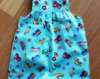 Baby Shorts Overalls