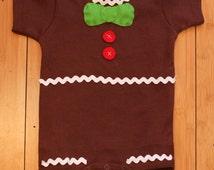 Yummy Gingerbread Baby Onesie Costume