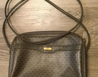 Liz Claiborne logo purse - handbag with long shoulder strap