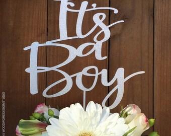 It's a Boy - Baby Shower Cake Topper