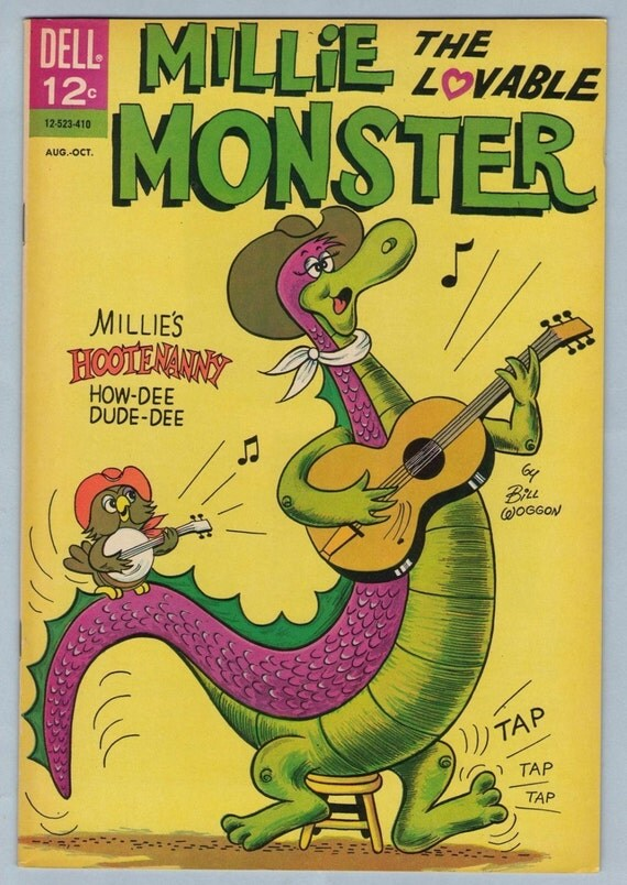 Millie the Lovable Monster 3 Oct 1964 NM- (9.2)