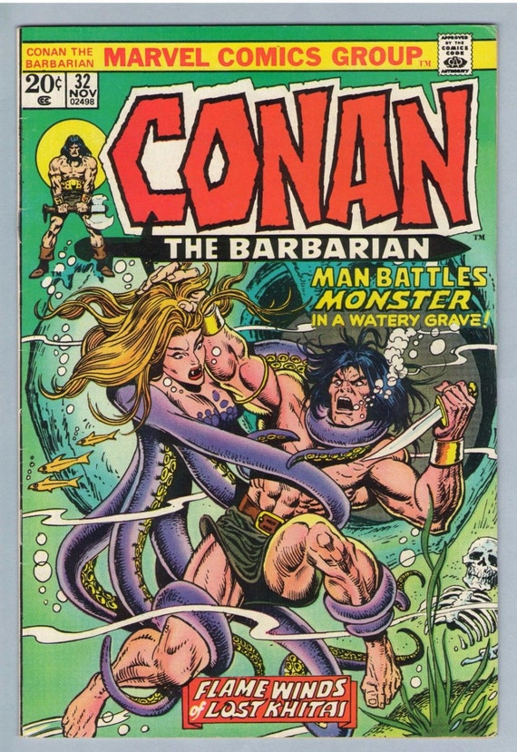 Conan the Barbarian 32 Nov 1973 VF-NM (9.0)