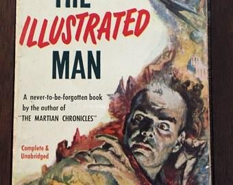The Illustrated Man by Ray Bradbury, 1952 1st paperback printing