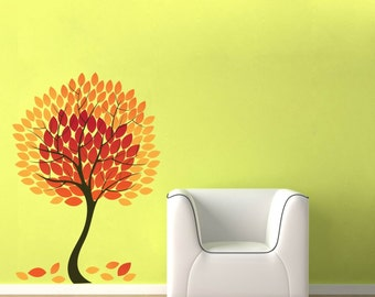 Beautiful Autumn Tree Wall Decal