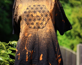SALE Flower Of Life  T-Shirt - XLARGE