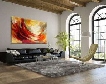 Modern Painting, Modern Wall Art, Canvas Painting Original Artwork, Abstract Art, Fine Art Painting, Abstract Modern Art, Sunrise