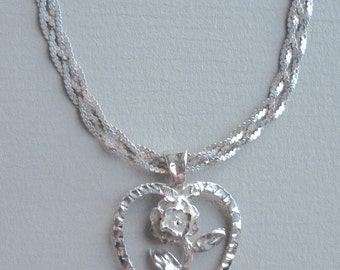 1940s Pendant Love Heart