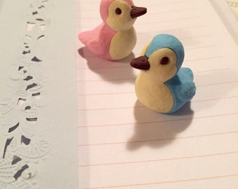 Detailed Sweet Duck Erasers