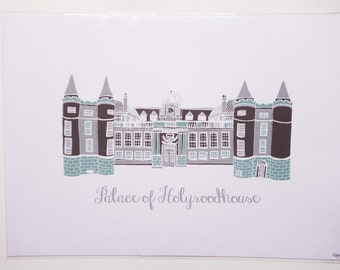 Palace of Holyroodhouse Print