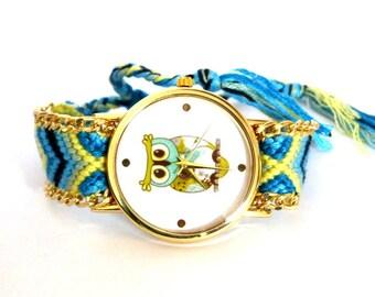 "Shop ""owl bracelet"" in Watches"