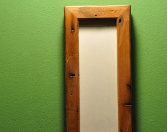Reclaimed Wormy Chestnut Photo Strip Frame