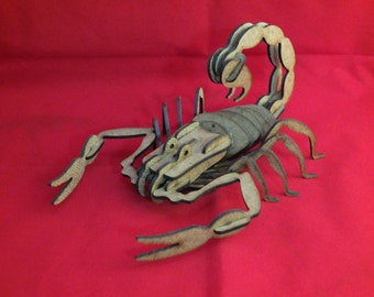 3D Puzzle Scorpion ( stock clearance )