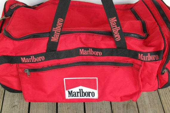 Large Marlboro Bag Marlboro Rolling Duffel Bag Marlboro